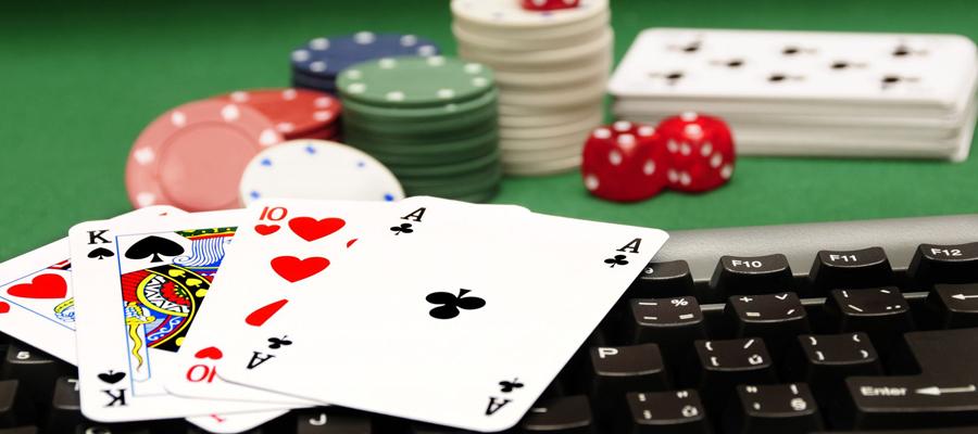La salle de poker
